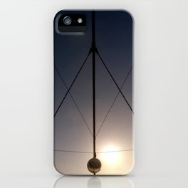 triangled lights iPhone Case