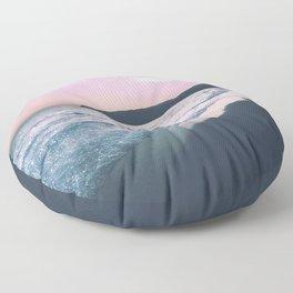 Glitter Lanscape Floor Pillow