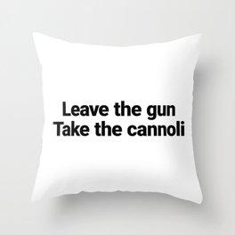 Clemenza Throw Pillow