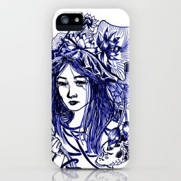Blue Pond iPhone Case