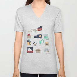Contain Yourself Unisex V-Neck