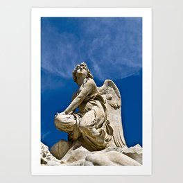 Song of the Angels Art Print