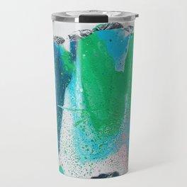pastel fluid art Travel Mug
