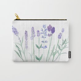 Lavender flowers swaying in the breeze Carry-All Pouch