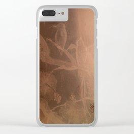 Hummingbird Heaven Clear iPhone Case