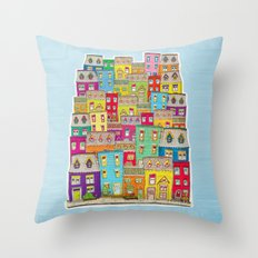 Way Downtown Throw Pillow