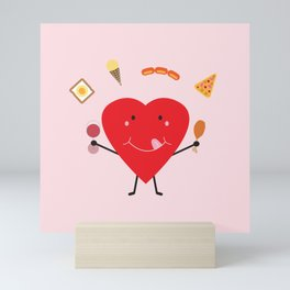 Hungry Heart Mini Art Print