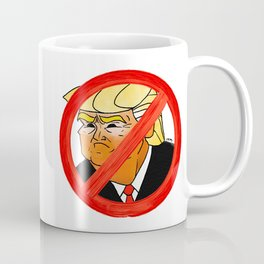 #Resist Orange 45 Coffee Mug
