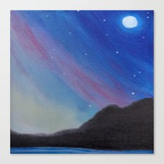 Sky of Lights Canvas Print