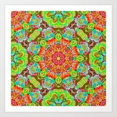 Mehndi Ethnic Style G497 Art Print