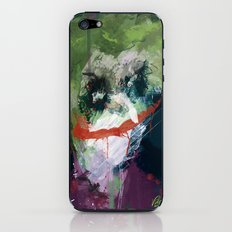 A Joker painting iPhone & iPod Skin