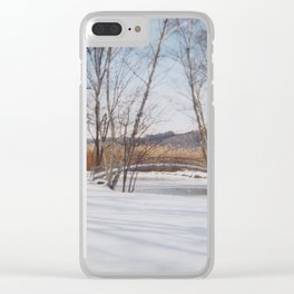 Winter at Eve's Clear iPhone Case