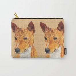 Basenji Carry-All Pouch