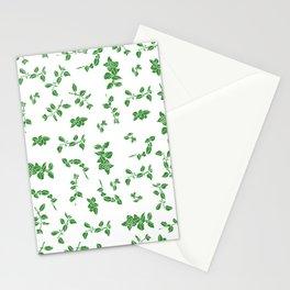 oregano flowes Stationery Cards
