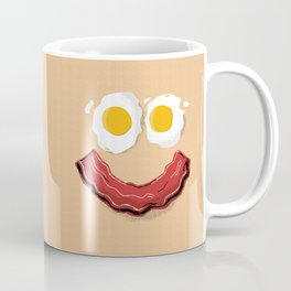 Bacon and Eggs Breakfast Smile Coffee Mug