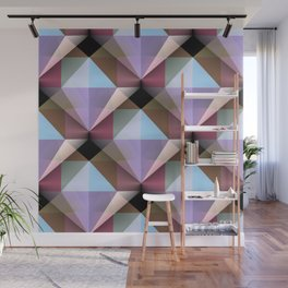 Facets 4 Wall Mural