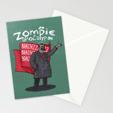 Zombie Lenin Stationery Cards