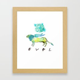 Evol Chimera Framed Art Print