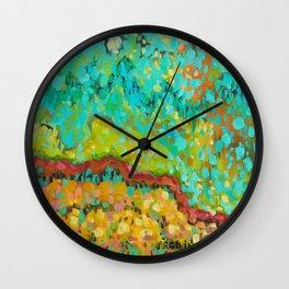 Puffs Wall Clock