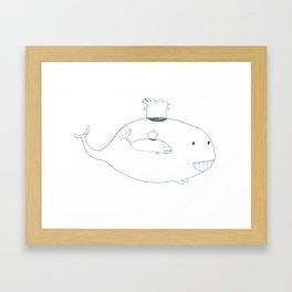 Baleineau Framed Art Print