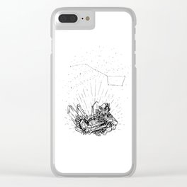 Magical Smoked Quartz Clear iPhone Case