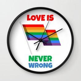 Love for everyone Wall Clock