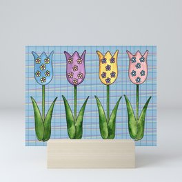 Tulip Row II Mini Art Print