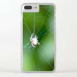 spider picture Clear iPhone Case