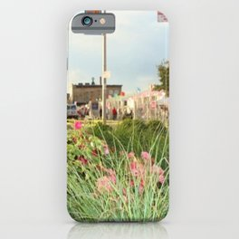 The Spring Flowers in Coney Island iPhone Case