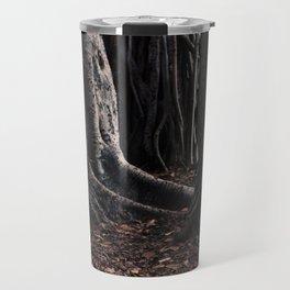 Spooky Winter Trees Travel Mug