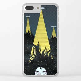 Abduction Clear iPhone Case