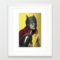 batgirl Framed Art Prints featuring BATGIRL by corverez