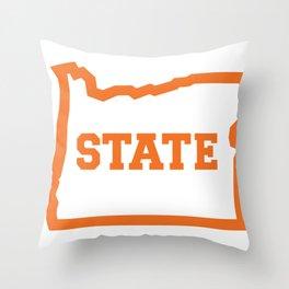 OSTATE Orange Throw Pillow