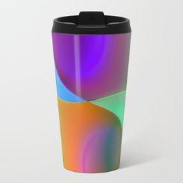 a towel full of colors -10- Travel Mug