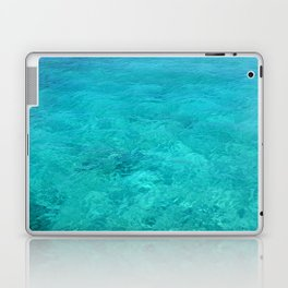 Clear Turquoise Water Laptop & iPad Skin