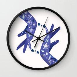 Sapphire Wall Clock