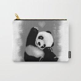 Panda Love (Monochrome) Carry-All Pouch