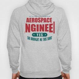 Aerospace Engineer Daughter Shirt Proud Child Hoody