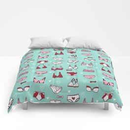 undies hand drawn andrea lauren pattern underwear lingerie Comforters