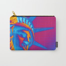 Pop Art Statue of Liberty Carry-All Pouch