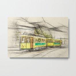 Strassenbahn 24 Bern Metal Print