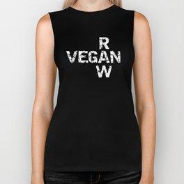 Vegan Raw Biker Tank
