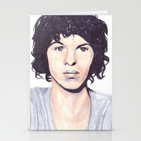 luke hemmings Stationery Cards featuring Luke by Daniela Herodesová