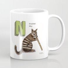 Animals & Instruments ABCs – N Coffee Mug