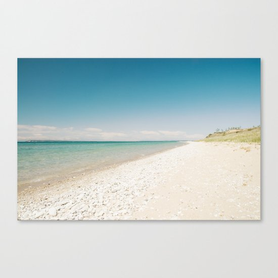 Seaside Manitou Island Canvas Print