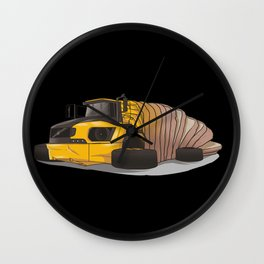 Articulated bread Wall Clock