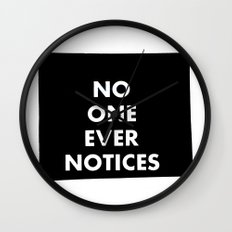 no one Wall Clock