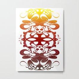 Pues Nada (warm) Metal Print