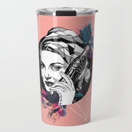 Vintage women from the 40s Travel Mug