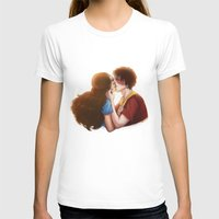 zuko T-shirts featuring Zutara cute kiss by Amourinette